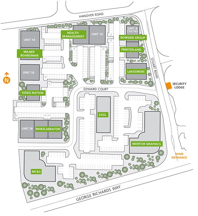 edward court site plan commercial property to rent in